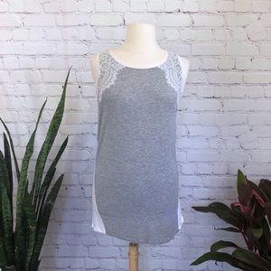 Jones New York Lace Shirt Dress